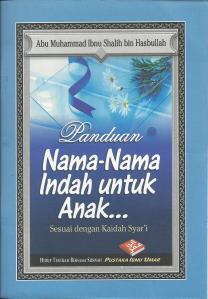 Buku Muslimah : Nama indah untuk Anak